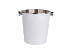 Stainless Steel Ice Bucket (White) MOQ:1000