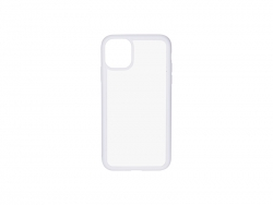 iPhone 11 Cover (Rubber, White)