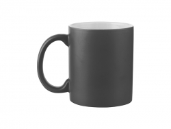 11oz Full Color Mug (Frosted, Black)
