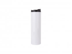 20oz/600ml Sublimation Blank Stainless Steel Flask(White)
