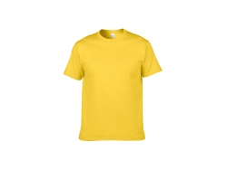 Cotton T-Shirt-Light Yellow