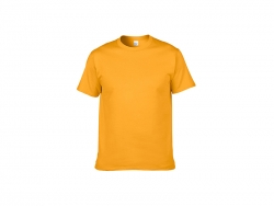 Cotton T-Shirt-Yellow