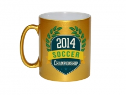 10oz Golden Sparkling Mug