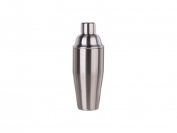 750ml Stainless Steel Cocktail Shaker (Silver)