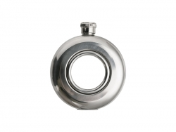 5oz/150ml Mini Round Hip Flask