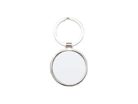 Sublimation Blank Key Chain (Round, 4*4.5cm)