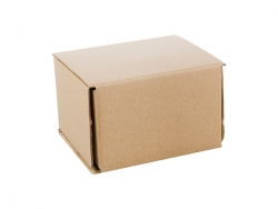 Double Hard Brown Paper Box for 11oz Mugs