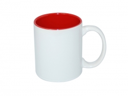 11oz Two-Tone Color Mugs - Red
